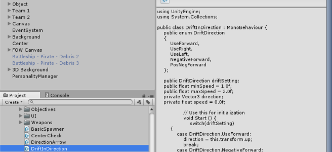 Unity Switch Enum